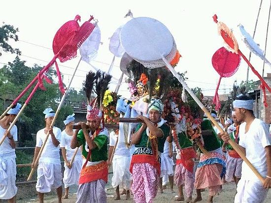 Lai lam thokpa ceremony of Meetei tribes
