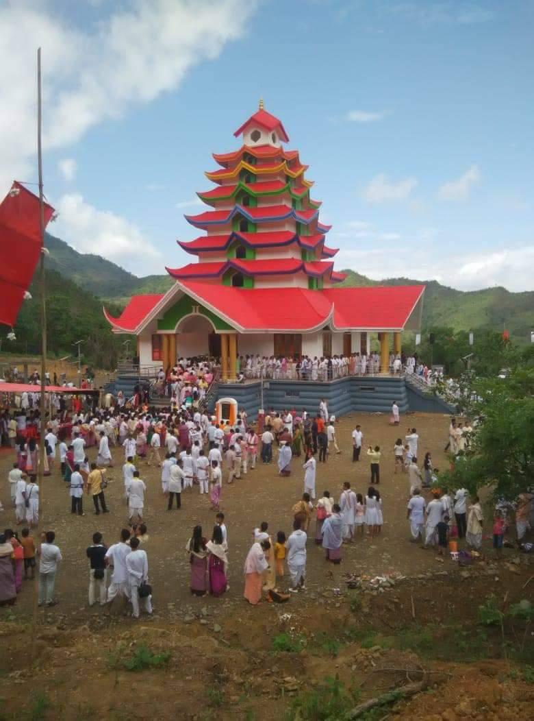 lai people worships Sanamahi